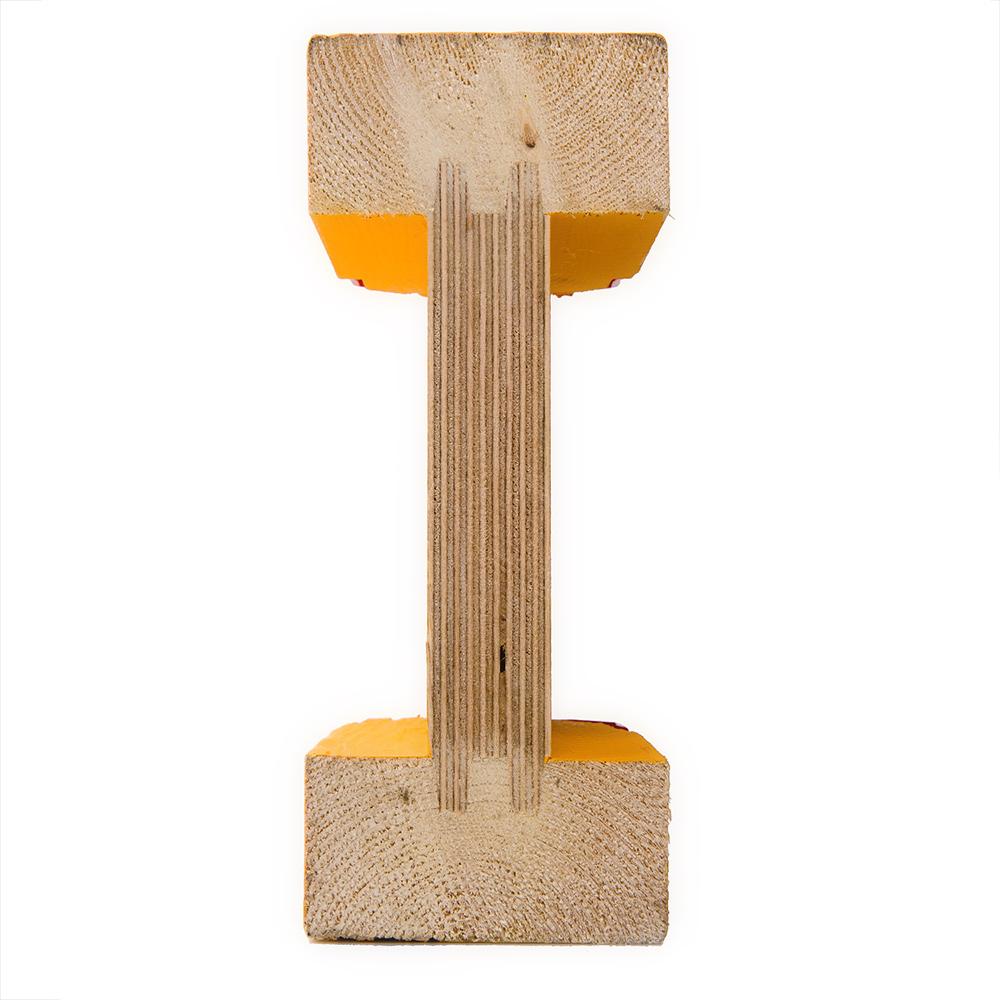 Деревянной двутавровые балКак сделать ёлку из пластиковой